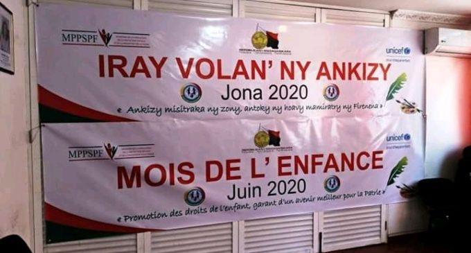 VOLANA JONA 2020: Nanamarika ny iray volan'ny ankizy isika eto Madagasikara