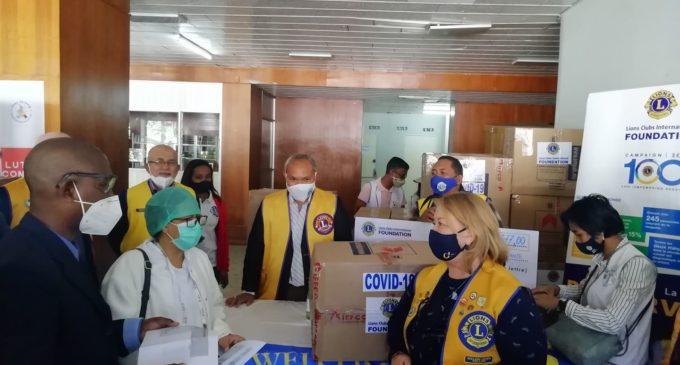 LIONS CLUB MADAGASCAR: Nanolotra fitaovana mitentina 10.000 dolara hiadiana amin'ny Covid-19