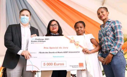 WIKICHALLENGE 2021: Ny sekolin'ny ADSF Antananarivo no nandrombaka ny laharana voalohany